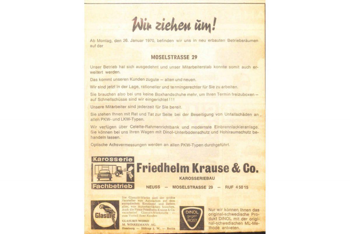 Krause Karosserie Werkstatt Moselstraße